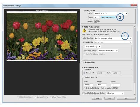ustawienie profili icc w photoshopie w trybie icm