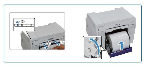zwijanie papieru w D700