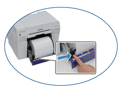 dolna prowadnica papieru D700
