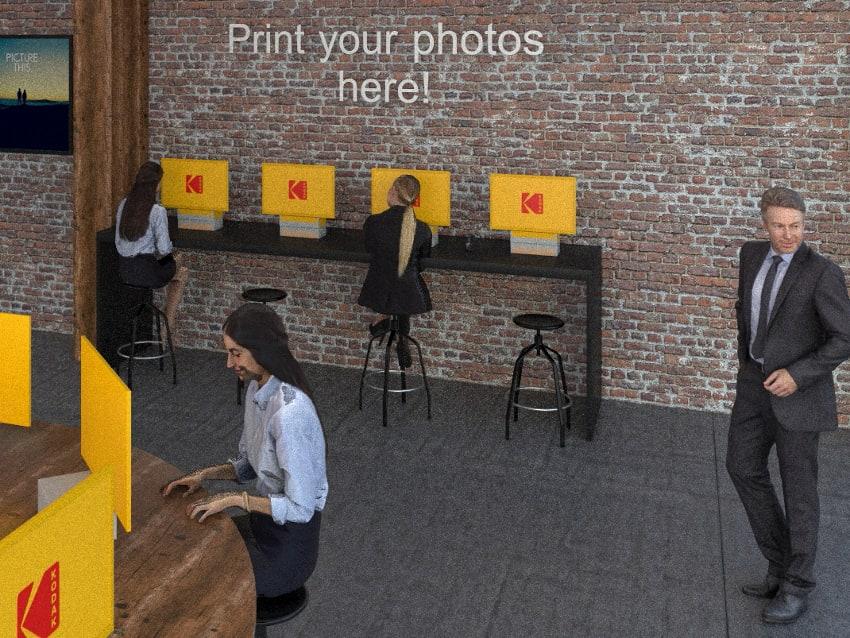 fotokiosk w zakładzie fotograficznym