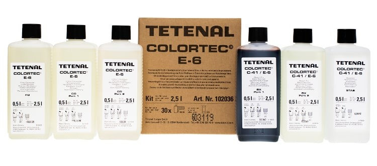 chemia tetenal do procesu e6